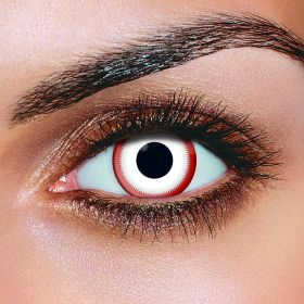 Saw White Contact Lenses (Pair)