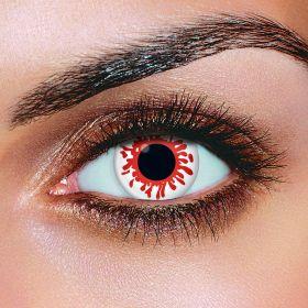 Blood Splat Eye Contact Lenses (Pair)