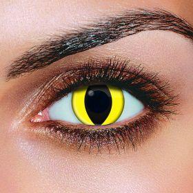 Yellow Cat Eye Contact lenses (Pairs)