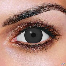 Black Mini Sclera Contact Lenses