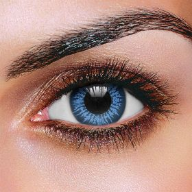 Big Eye Cool Blue 3 Month Contact Lenses