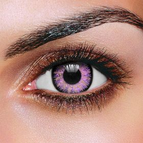 Glamour Violet Contact Lenses  (Pair)