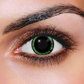 Green Manga Contact Lenses (Pair)