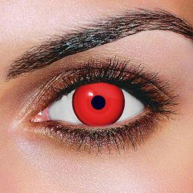 Red Mini Sclera Contact Lenses