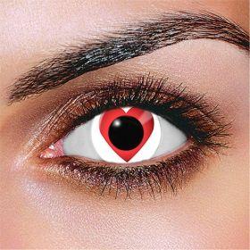 Queen of Hearts Contact Lenses (Pair)