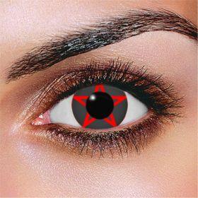 Red Pentagram Contact Lenses
