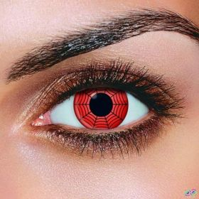 Red Web Contact Lenses (Pair)
