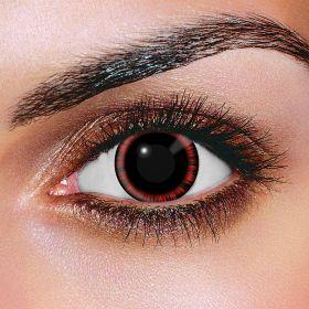 Red Manga Contact Lenses (Pair)
