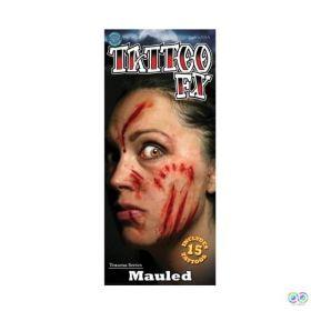 Tinsley Mauled Temporary Tattoos