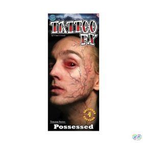 Tinsley Possessed Veins Temporary Tattoos