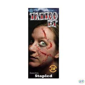 Tinsley Stapled Temporary Tattoos