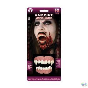 How to Wear Tinsley Vampire Teeth