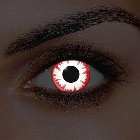 i-Glow White Demon Contact Lenses (Pair)